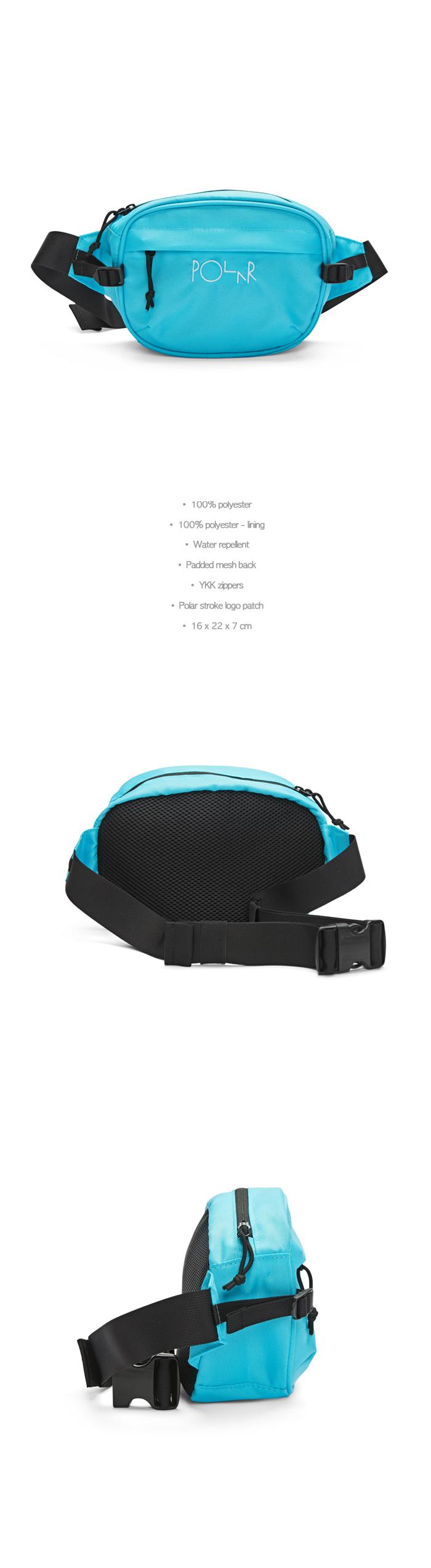 폴라(POLAR) Cordura Hip Bag - Aqua [SU19]