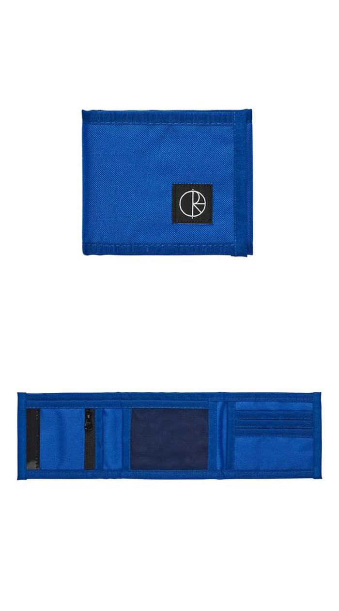 폴라(POLAR) Cordura Wallet - Blue