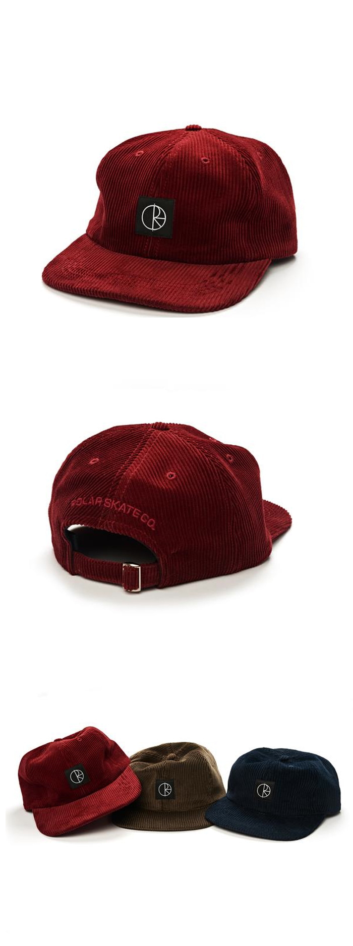 폴라(POLAR) Corduroy Cap - Red
