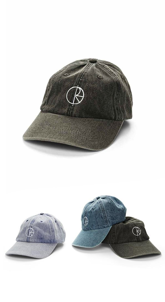 폴라(POLAR) Denim Caps - Black