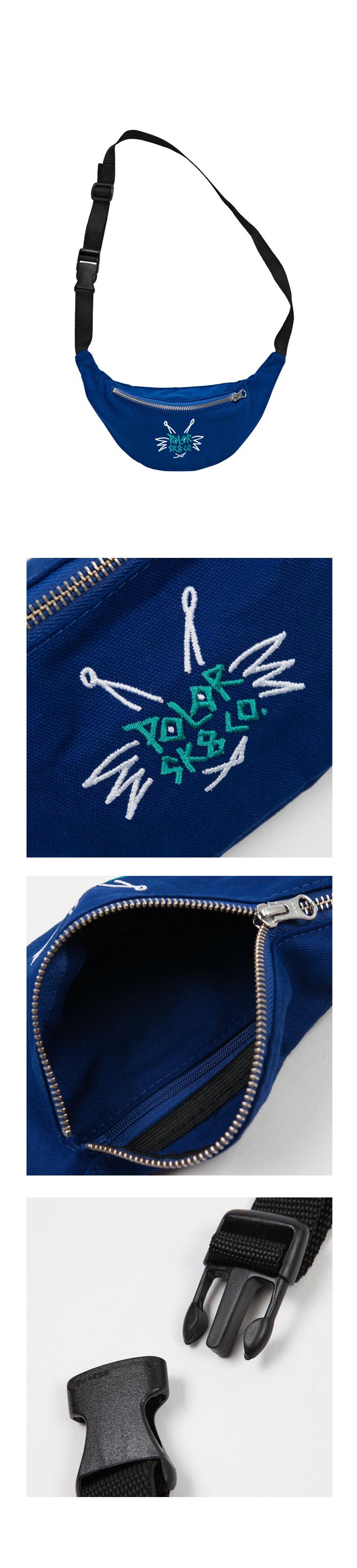 Doodle Hipbag - Royal Blue