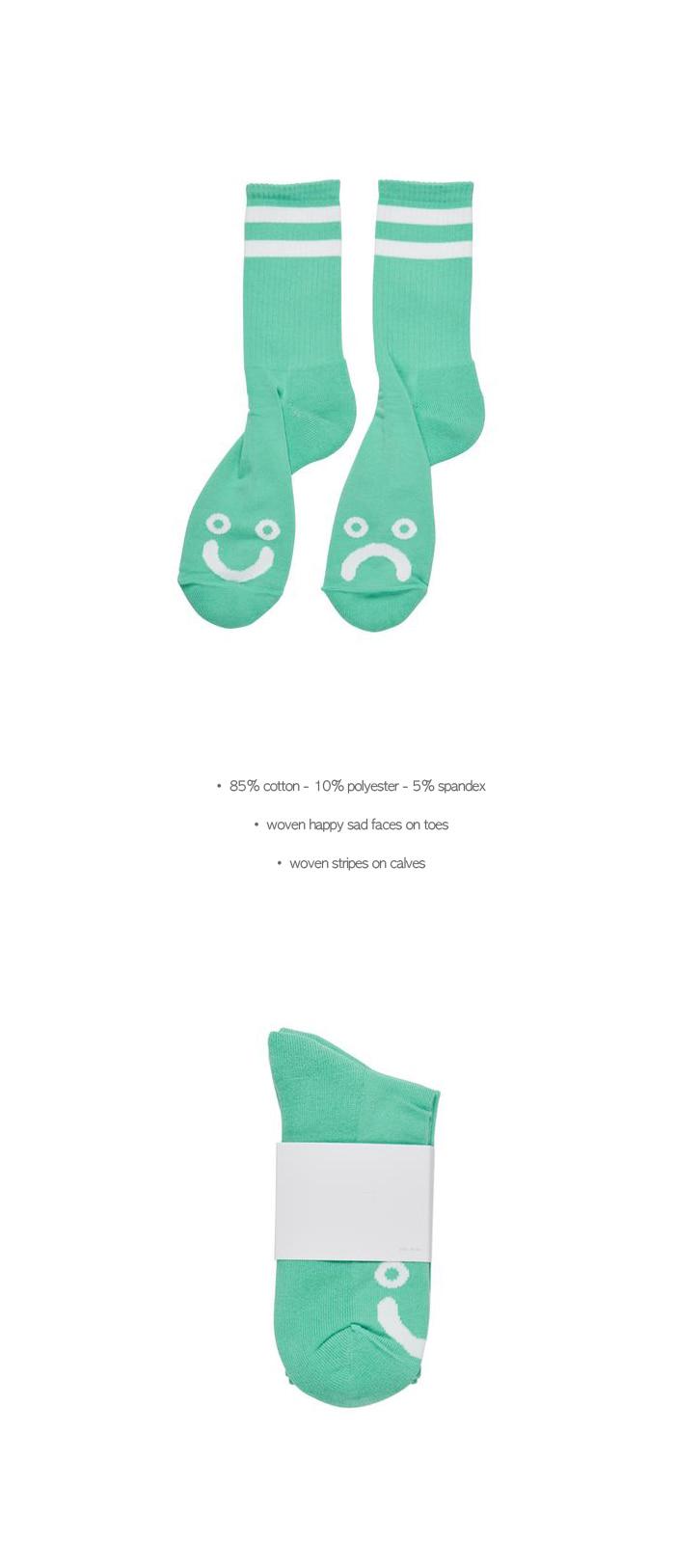 폴라(POLAR) Happy Sad Socks - Mint
