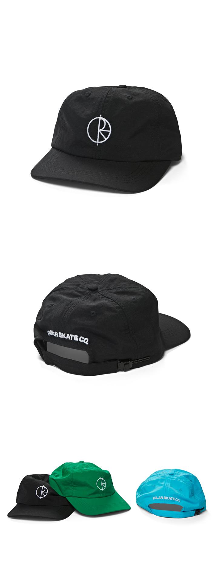 폴라(POLAR) Lightweight Caps - Black