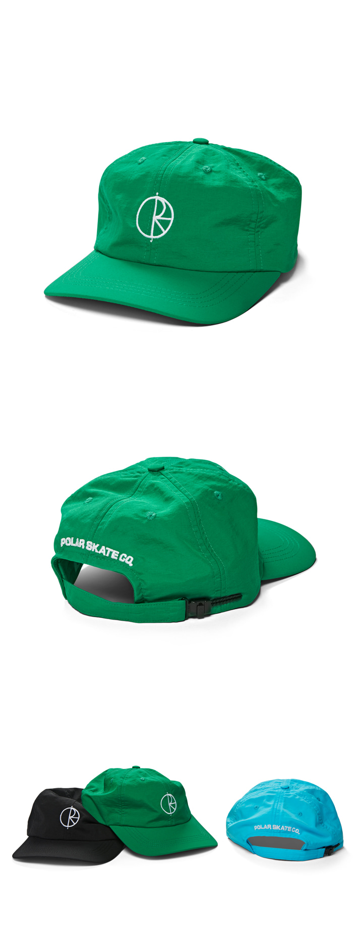 폴라(POLAR) Lightweight Caps - Green