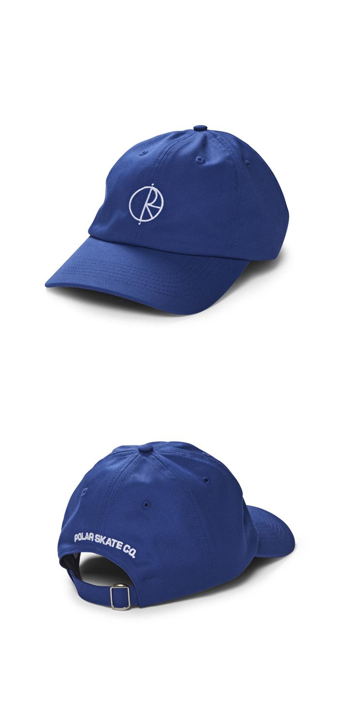 폴라(POLAR) Stroke Logo Cap - Royal Blue