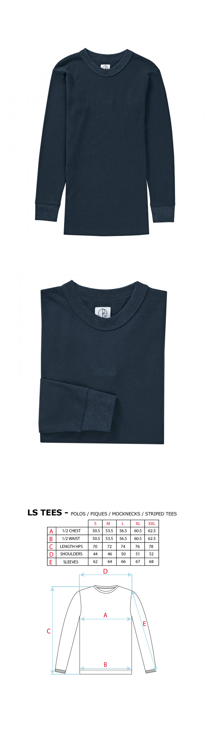 폴라(POLAR) Thermal Longsleeve - Dusty Blue